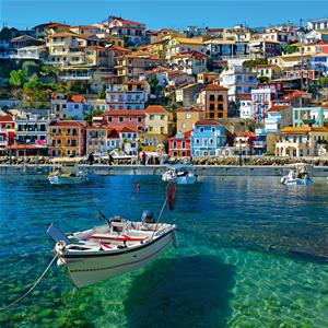 Quadro paesini sul mare pintdecor graphicollection - Quadri per casa mare ...