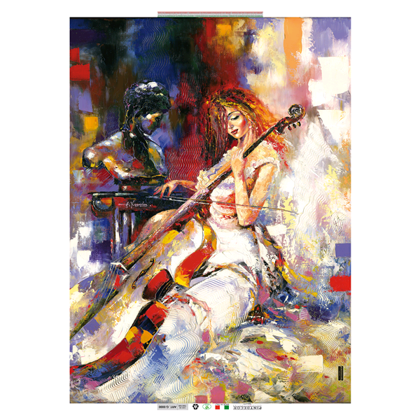 CLASSICI VIOLONCELLO - Pintdecor GraphiCollection - Quadri - Stampe ...
