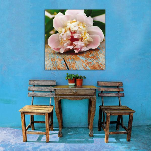 Fiore sul tavolo pintdecor graphicollection quadri stampe panelli per arredamento - Mollettone per stirare sul tavolo ...